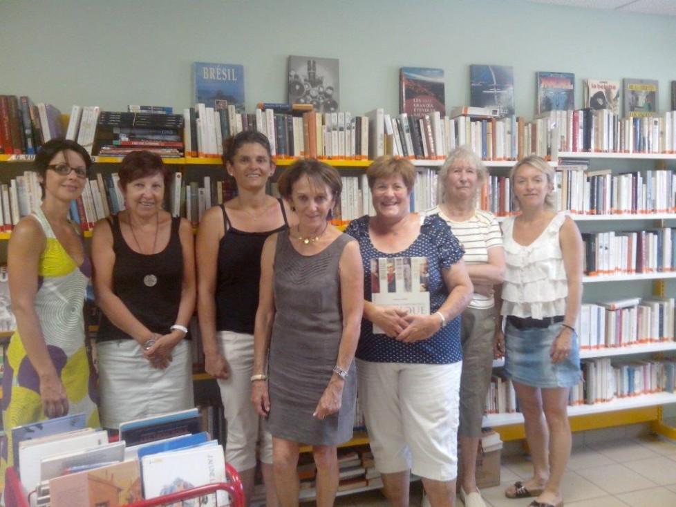 Bibliothèque bénévoles