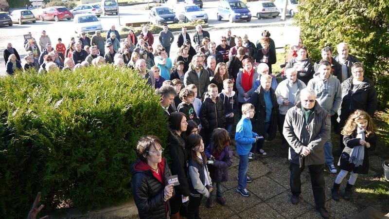 Marche blanche en mémoire des victimes des attentats