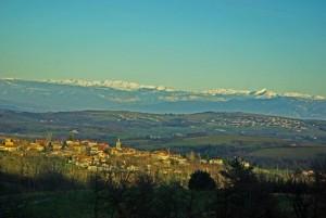 Village et Alpes
