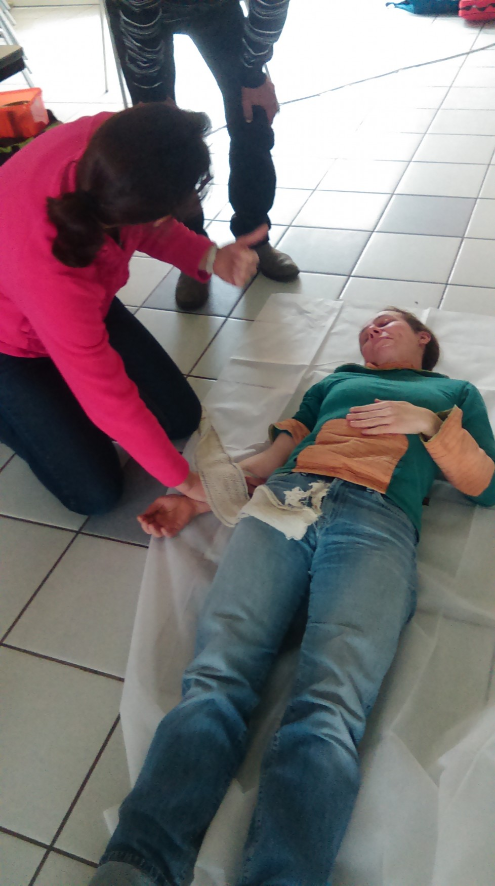 Formation gestes de premiers secours Colombier-le-jeune